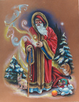 Lucy Synk Fantasy Art - Christmas Cards